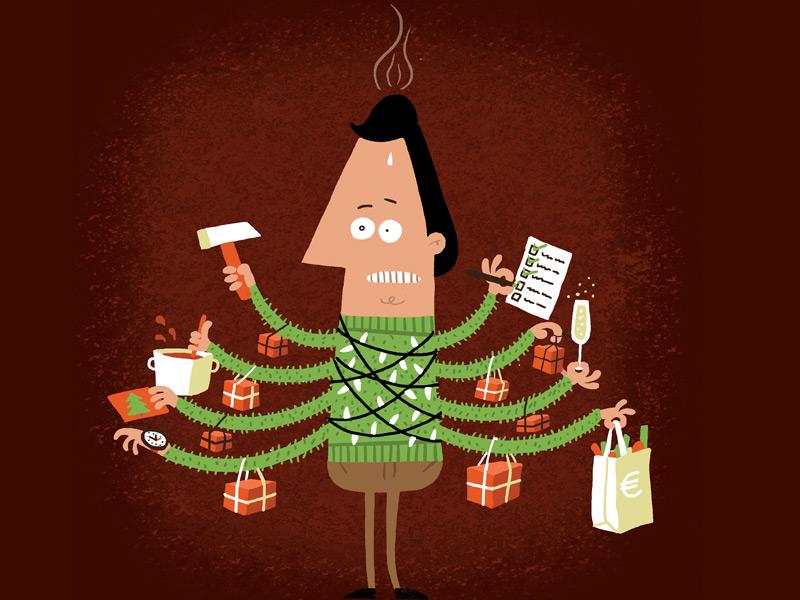 Holidaystress stress holiday christmas christmastree