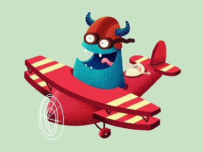 birth announcement: Vigo baby monster plane domtoren utrecht