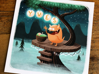Yves - birth announcement