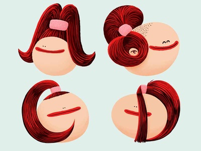 Alphabet of Haircuts