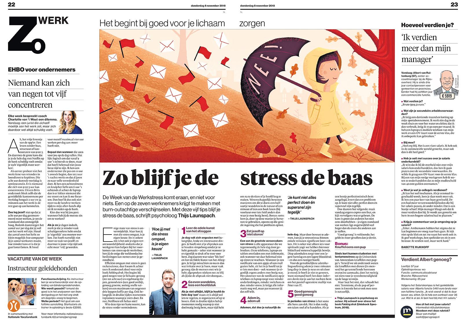 20181107 stress krant