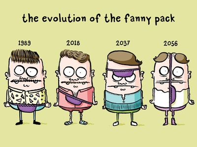 the evolution of the fanny pack