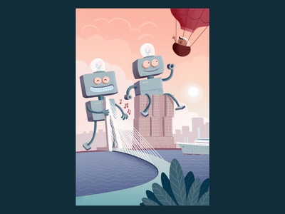 Friendly Robots in Rotterdam