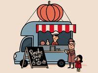 Pumpkin Soup Truck
