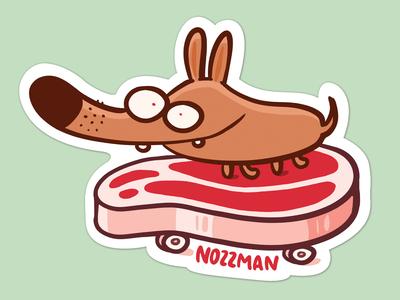 Steakboard Sticker 🥩