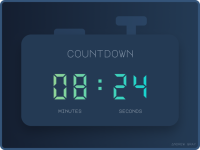Daily UI 014 - Countdown Timer v2
