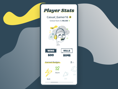 Daily UI 019 - Leaderboard/Stats