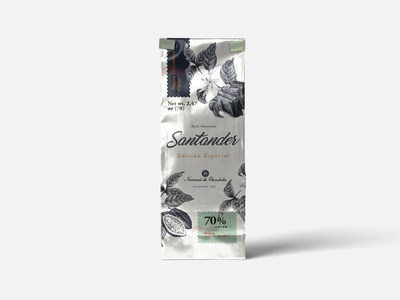 Chocolate Santander Packaging