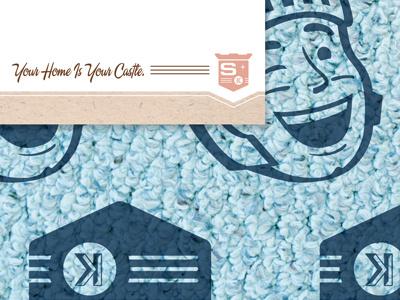 Steamy Knights Letterhead design identity illustrator letterhead retro robert gaszak