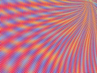 Rainbow Moire