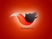 Fox and bear logo