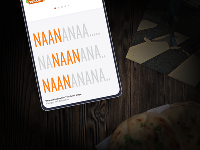 Swiggy In-app Easter Eggs #3 swiggy fun pun music ui illustration vector footer food indian hey jude beatles