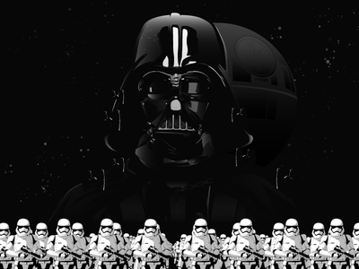 Star Wars Rogue One icon illustration vector rogue one star wars darth jedi sith disney marvel stormtrooper vader