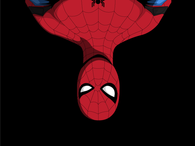 MCU Spiderman Homecoming illustration icon comic art vector marvel spiderman man spider