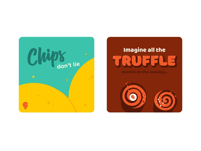 Food so Pun #1 merchandise sticker food app swiggy music pun fun food illustration vector