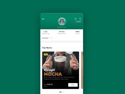 Top Noms - Menus made tastier @Swiggy :) logo art design shop pizza coffee restaurant food menu menu typography lettering animation tasty ux ui branding food app