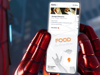 Swiggy In-app Easter Eggs #1 branding flat design trend art fanart typography vector delight ui spiderman movie marvel funny pun illustration ux app easter egg swiggy