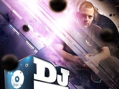DJ Z Trip - Concert Poster - Bend, Oregon glitch 3d graphic design event poster poster event flyer
