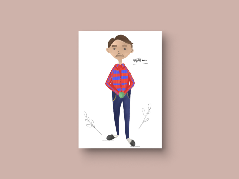 William Character Study childrens book illustration childrens books childrens illustration childrens book kidlitillustration kidlitartist kidlitart kidlit illustrations book illustration