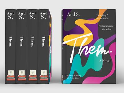 Them. book cover mockup book cover design book cover art book covers book cover book art book