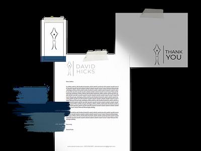 Author Branding illustrated logo illustration logos brand identity author logo brand design branding