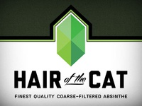 Hair of the Cat Absinthe, back label