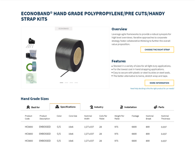 Product Detail Page product slider product detail rresponsive table