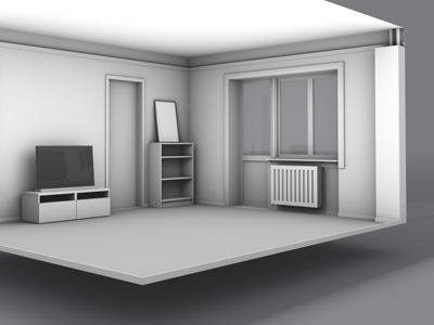 Living room – wip