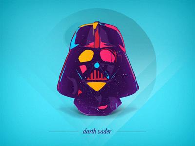 D - darth vader alphabet portrait bold star wars
