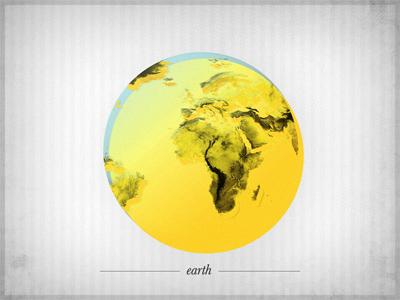 E - earth