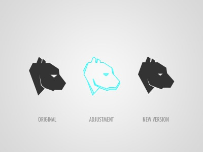 Brandmark adjustment brand brandmark branding logo bear