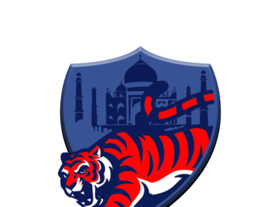 Delhi capitals logo graphic design design logo concept app duggout cricket logo cricket app creative cricket