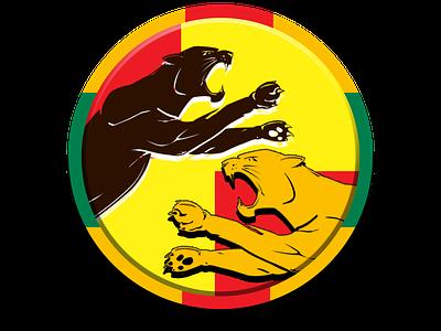 Belagavi Panthers team logo app graphic design logo concept cricket jiga duggout cricket app cricket logo kpl creative