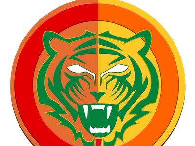 Bangla Tigers team Logo color graphic design creative icon logo jiga duggout cricket logo cricket app cricket