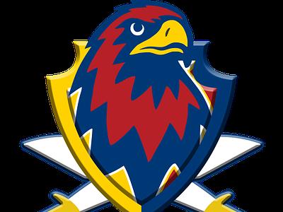 Essex Eagles team logo design concept icon jiga logo graphic design creative duggout cricket logo cricket app cricket eagle logo eagle