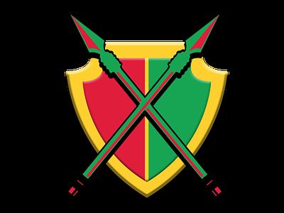 Guyana Amazon Warriors team logo branding ui illustration app design concept icon jiga logo graphic design creative duggout cricket logo cricket app cricket