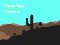 Deserted cactus