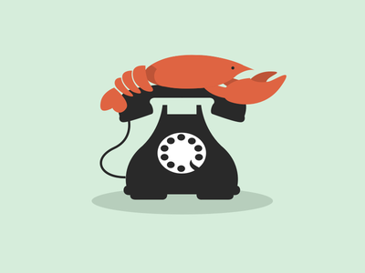 Call Me Maybe lobster phone icon dali