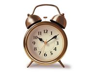 Alarm clock vector art