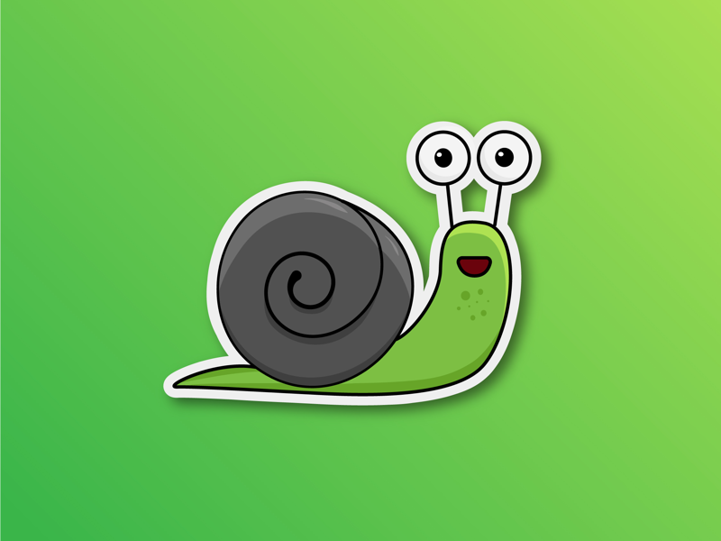 Snail sticker designing graphicdesign illustrations branding art vector stickers