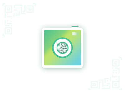 QR Scanner App Icon - Daily Ui 005