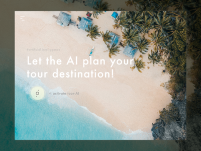 Search For Tour Destination Powered By AI