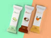 Healthy Fruit Candy Bar Package Design - Dribbble Warm up