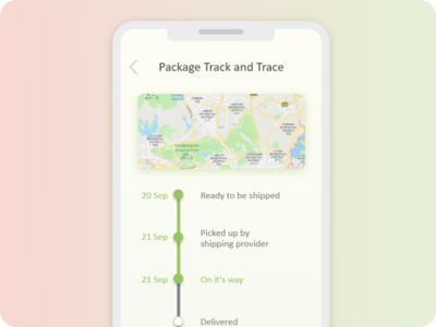 Drop shipping Progress Bar