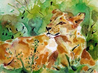 A Lady Lion