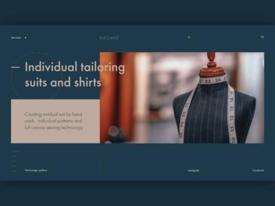 Elegant (web main page)