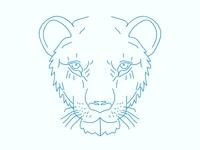 Tiger Face - Illustrator