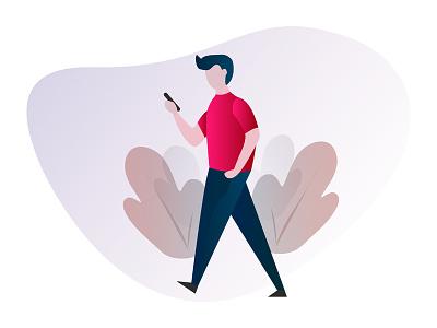 Vector Illustration Design illustrator responsive type web css mobile website ui minimal flat vector logo animation illustration icon ux identity design branding clean