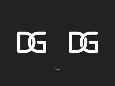D + G Logo Concept