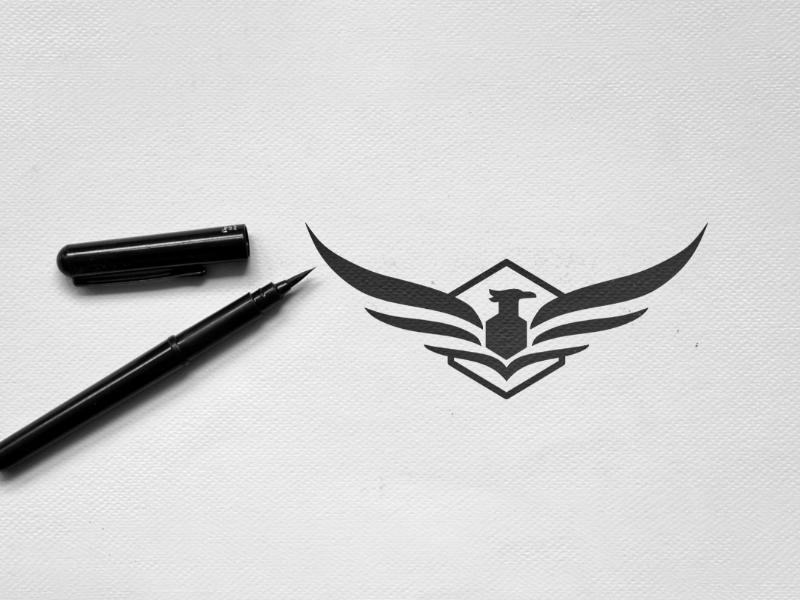 Eagle illustrator adobe logodesigner logopassion graphicdesign designinspirations logoinspirations logodesign logo brandmark eagle